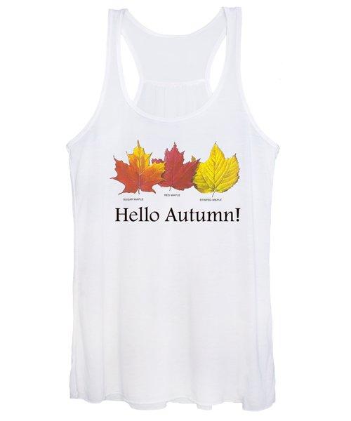 Hello Autumn Women's Tank Top