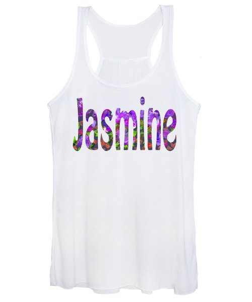 Women's Tank Top featuring the digital art Jasmine by Corinne Carroll