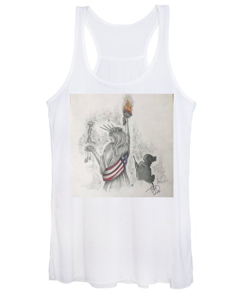 Liberty And Justice For All Women's Tank Top
