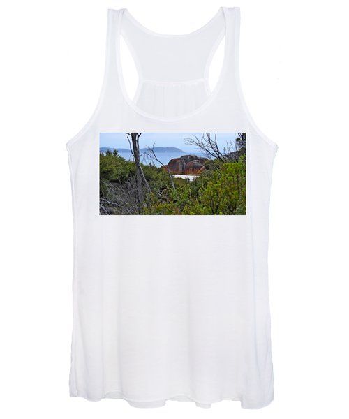 Squeaky Beach, Wilsons Promontory National Park, Australia Women's Tank Top