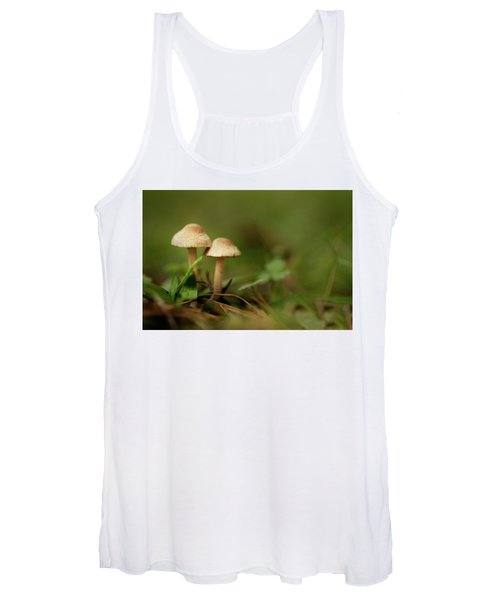 Women's Tank Top featuring the photograph Together by Bob Cournoyer