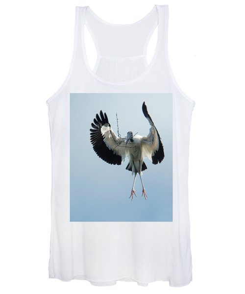 Woodstork Nesting Women's Tank Top