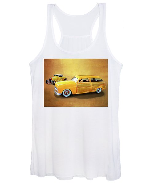 1949 Woody And 1932 Roadster Women's Tank Top
