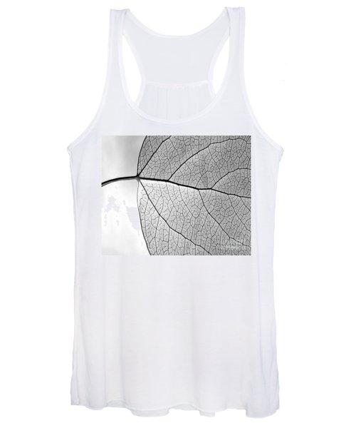 Aspen Leaf Veins Women's Tank Top