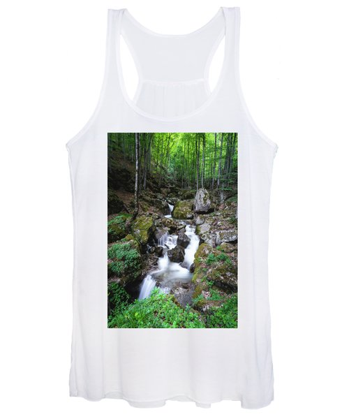 Bela River, Balkan Mountain Women's Tank Top