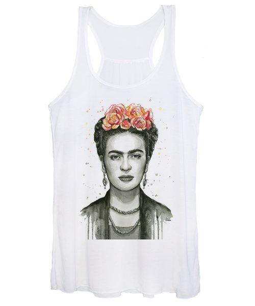 Frida Kahlo Portrait Women's Tank Top