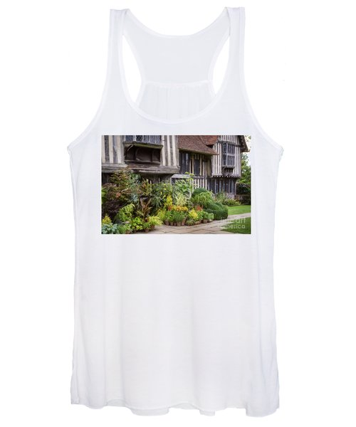 Women's Tank Top featuring the photograph Great Dixter House And Gardens by Perry Rodriguez