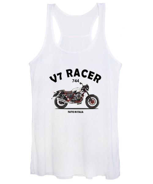 Moto Guzzi V7 Racer Women's Tank Top
