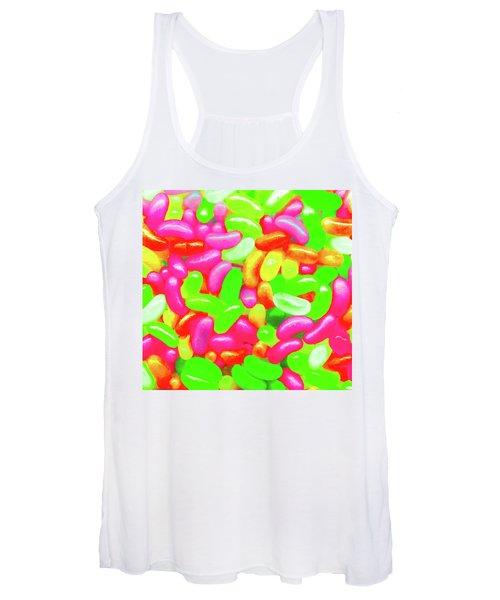 Vibrant Jelly Beans Women's Tank Top