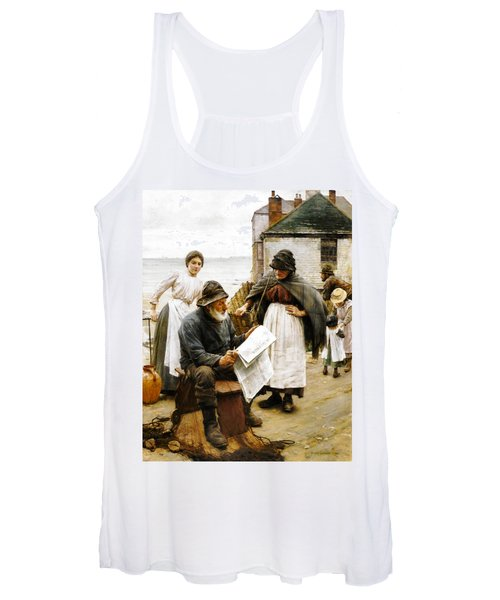 When The Boats Are Away Women's Tank Top