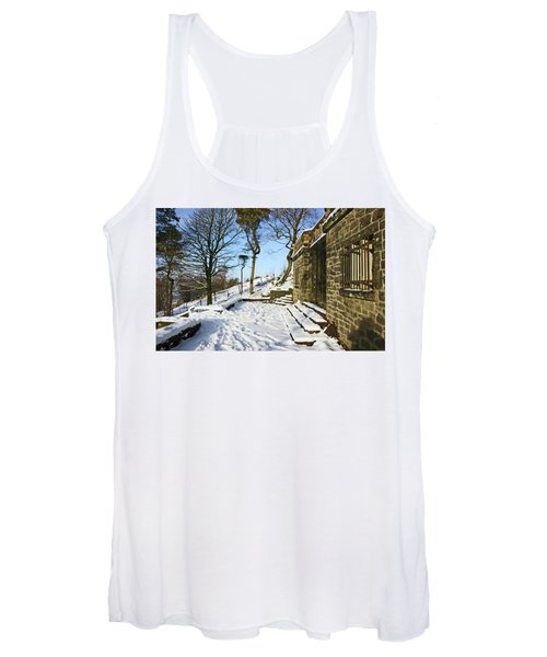 30/01/19  Rivington. Summerhouse In The Snow. Women's Tank Top
