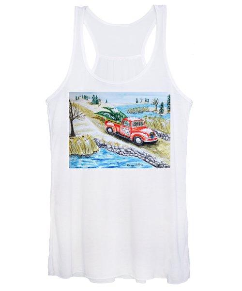 A Cape Cod Christmas Women's Tank Top