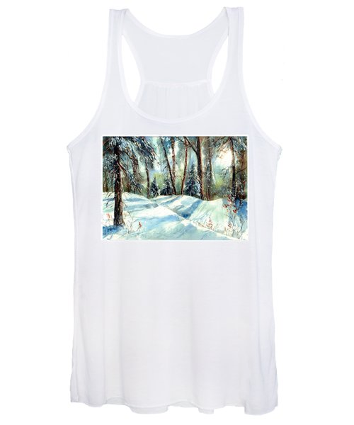 A True Winter Wonderland Women's Tank Top