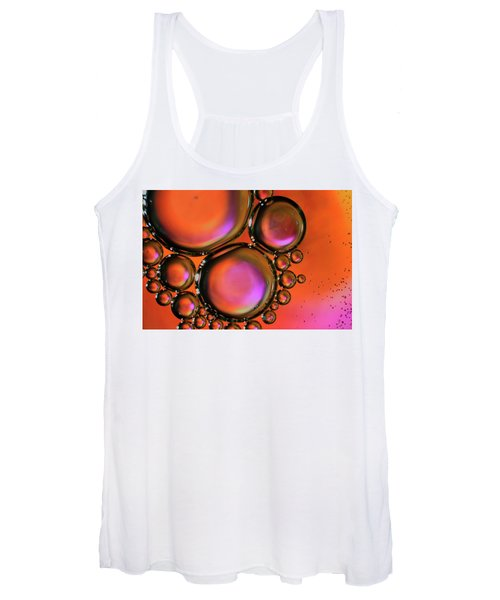 Abstract Droplets Women's Tank Top