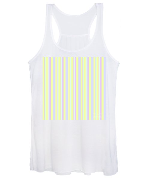 Abstract Fresh Color Lines Background - Dde595 Women's Tank Top