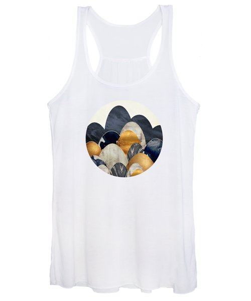 Abstract Hills Women's Tank Top