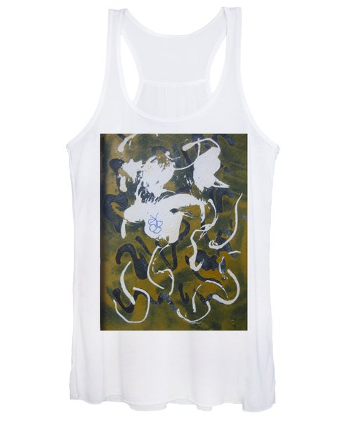 Abstract Human Figure Women's Tank Top
