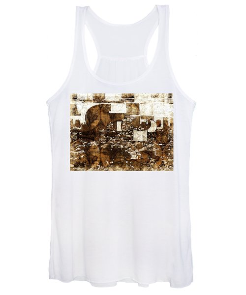 Abstract Map Women's Tank Top