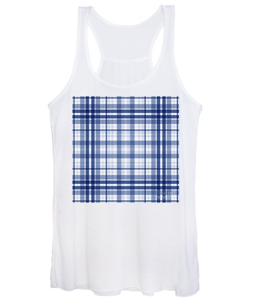 Abstract Squares And Lines Background - Dde611 Women's Tank Top