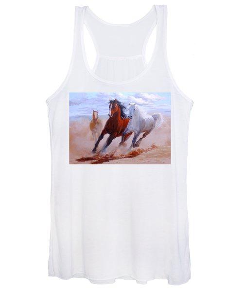 Adventurous Horses Women's Tank Top