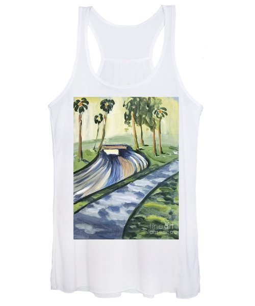 Afternoon In The Park Women's Tank Top
