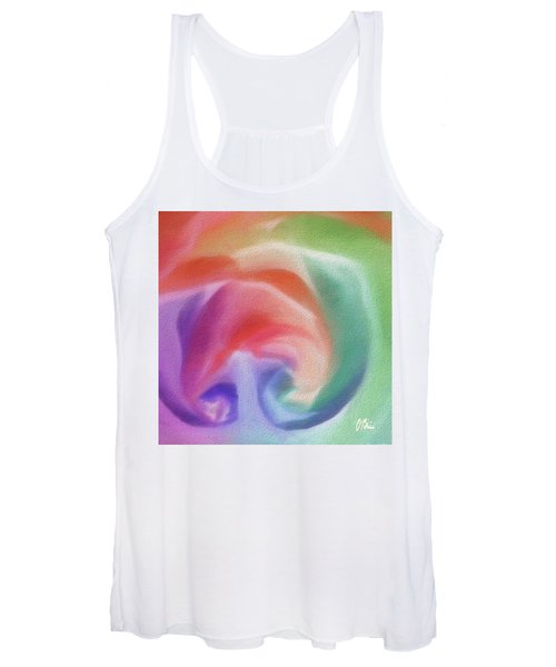 All The Colors Of - Pastel Abstract I.jpg Women's Tank Top