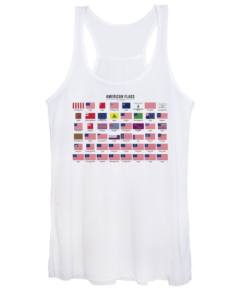 American Flags Women's Tank Top