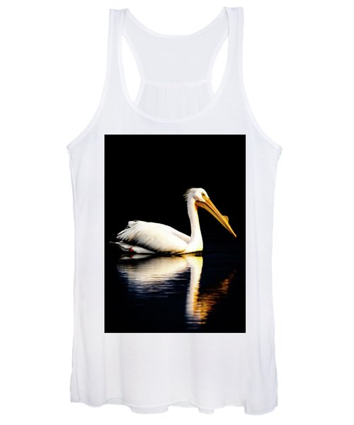 American White Pelican Women's Tank Top