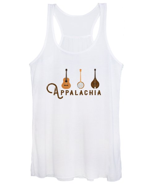 Appalachia Mountain Music White Mountains Women's Tank Top