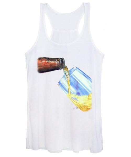 A Cool Drink Of Art Women's Tank Top
