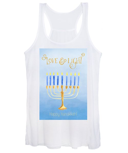 Love And Light For Hanukkah Women's Tank Top