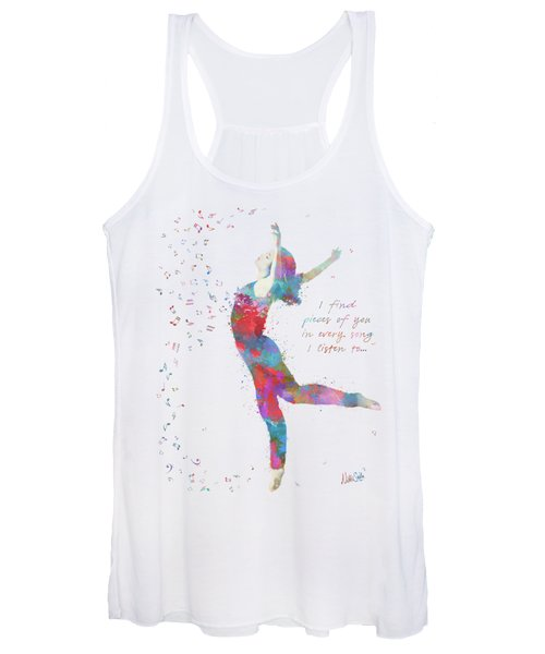 Beloved Deanna Radiating Love And Light Women's Tank Top