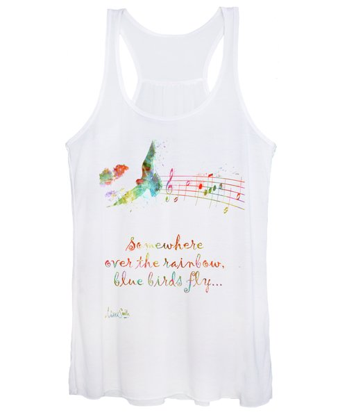 Somewhere Over The Rainbow Women's Tank Top