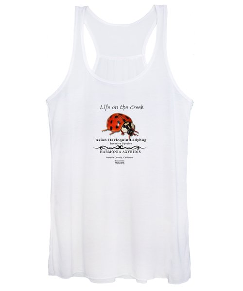 Asian Harlequin Ladybug Women's Tank Top