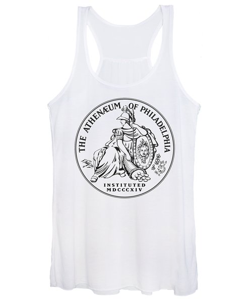 Athenaeum Of Philadelphia Logo Women's Tank Top