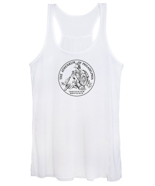Athenaeum Of Philadelphia Logo Women's Tank Top