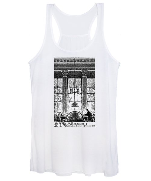 Athenaeum Reading Room Women's Tank Top