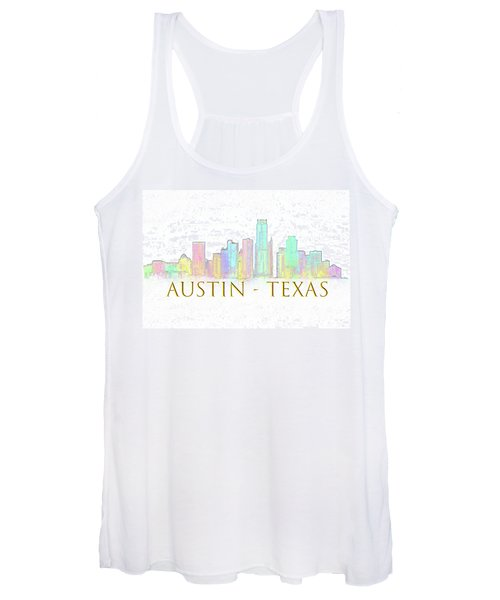 Austin Skyline Women's Tank Top