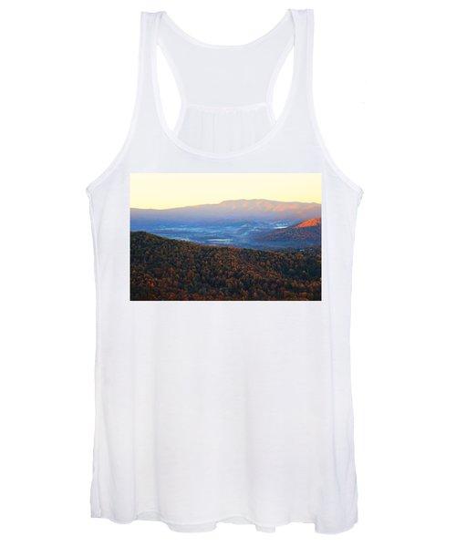 Autumn Mountains  Women's Tank Top