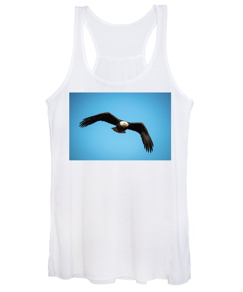 Bald Eagle In Flight  Women's Tank Top
