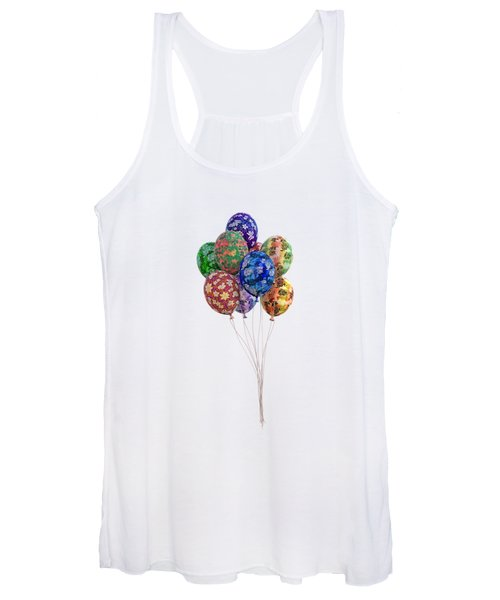 Balloons Perfect Touch Women's Tank Top