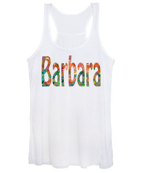 Women's Tank Top featuring the digital art Barbara by Corinne Carroll