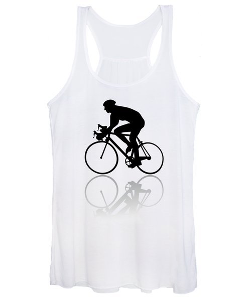 Bicycle Shadow Women's Tank Top