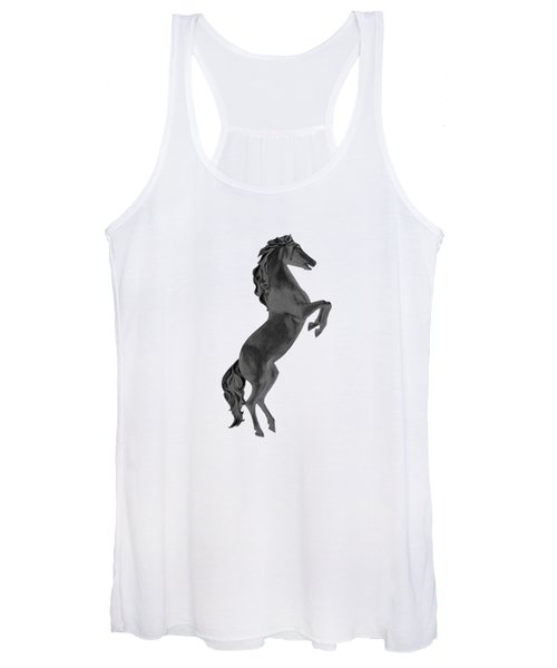 Black Horse Women's Tank Top