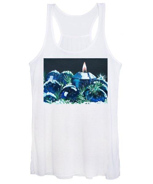 Blue Christmas  Women's Tank Top