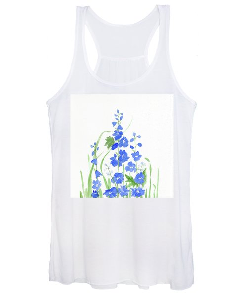Blue Larkspur  Women's Tank Top