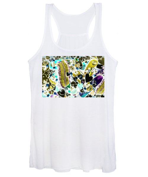 Boarding Background Women's Tank Top
