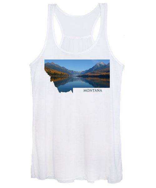 Bowman Lake- Montana Women's Tank Top