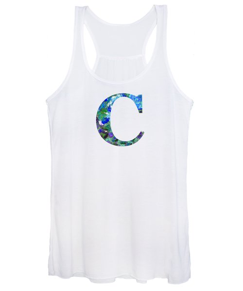 Women's Tank Top featuring the digital art C 2019 Collection by Corinne Carroll