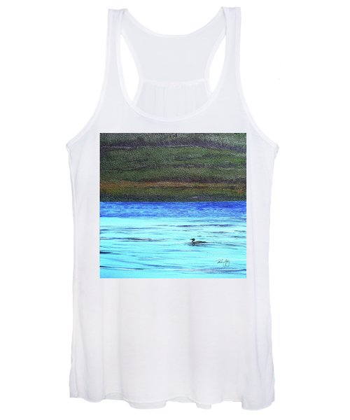 Call Of The Loon Women's Tank Top